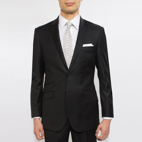 2BSV Notch Lapel Suit FF Pant Black (US: 36S)