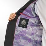2BSV Notch Lapel Suit FF Pant Charcoal (US: 36R)