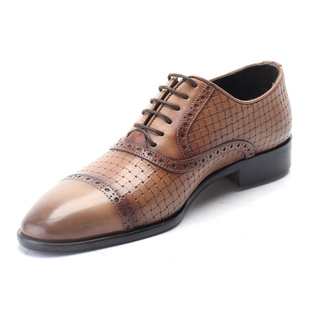 Quieva Cap Toe Derby // Brown Alcohol (Euro: 40)