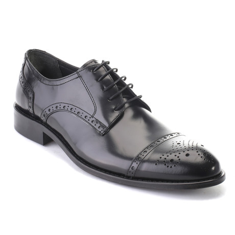 Adis Cap Toe Derby // Black (Euro: 40)