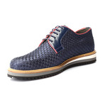 Dante Dress Shoe // Dark Blue (Euro: 41)