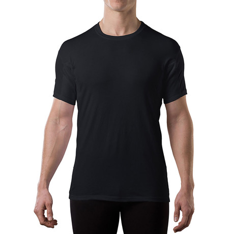 Sweat Proof Hydro-Shield Crewneck // Black (XL)