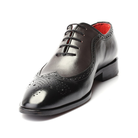 Quinna Dress Shoes // Black Gray (Euro: 39)