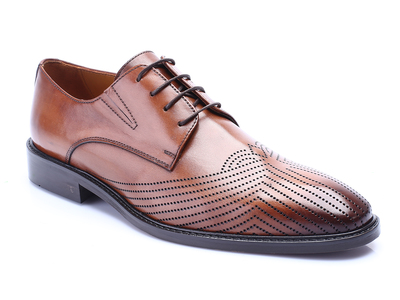 Photo of Deckard Handcrafted Leather Dress Shoes Quianna // Tobacco (Euro: 39) by Touch Of Modern