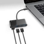 USB-C Hub // 4 USB 3.0 Ports