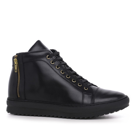 Belgravia High-Top Sneaker // Black (US: 7)