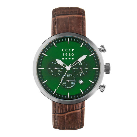 CCCP Kashalot Dress Chronograph Quartz // CP-7007-09