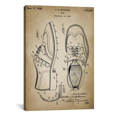 """Golf Shoes (18""""W x 26""""H x 0.75""""D)"""