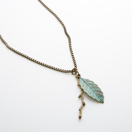 Dreamer Feather + Olive Branch