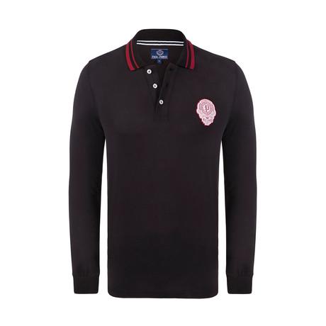 Bristol Long Sleeve Polo Shirt // Black (XS)