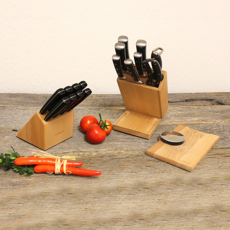 Smart Knife // Forged Cutlery Set // 20-Piece Set