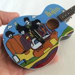 The Beatles // Yellow Submarine Tribute Mini Acoustic Guitar Replicas