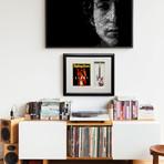 Jimi Hendrix Monterey Fender™ Strat™ Mini Guitar & Photo Tribute Shadow Box