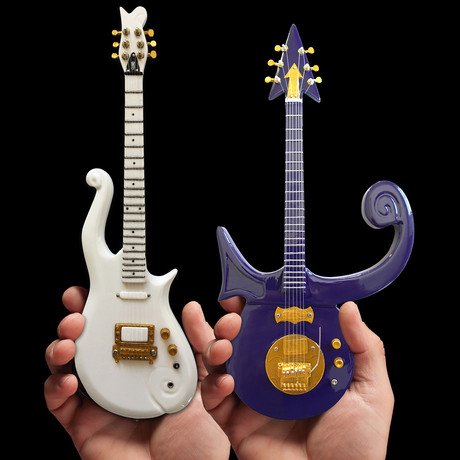 Prince // Signature Mini Guitar Replicas // Set of 2