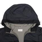 Two Tone Waterproof Vest // Navy Blue (S)