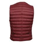 Puffer Vest // Maroon (Euro: 48)