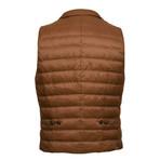 Puffer Vest // Brown (M)