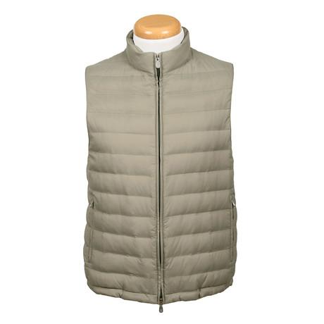 Raphe Puffer Vest // Sage (XS)
