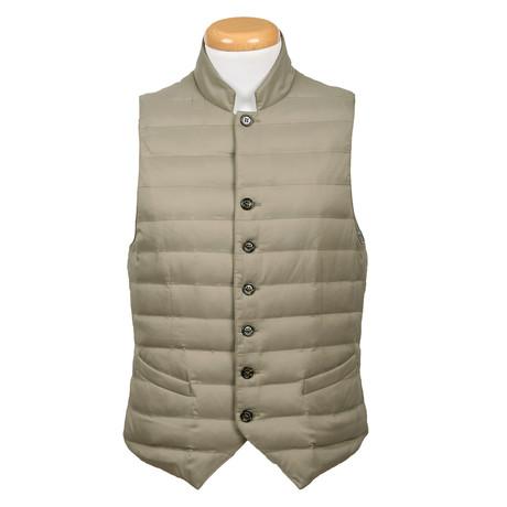 Puffer Vest // Sage (M)