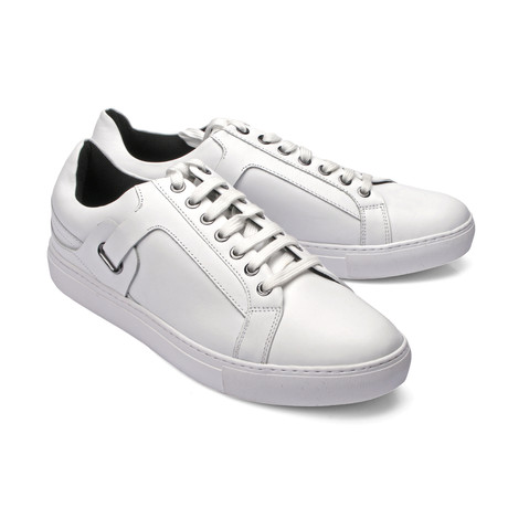 Lace-Up Sneaker // White (Euro: 39)