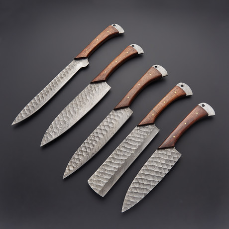 5 Piece Chef Knife Set // KCH-101