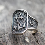 Anchor Symbol Ring (6)