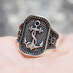 Anchor Symbol Ring (10)