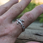 Anchor + Rope Ring (6.5)