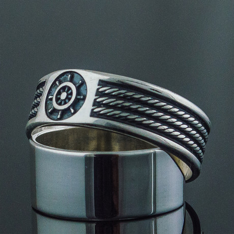 Sailor Collection // Rope + Handwheel Ring (6)