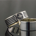 Rope + Compass Ring (9)