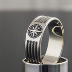 Rope + Compass Ring (11)