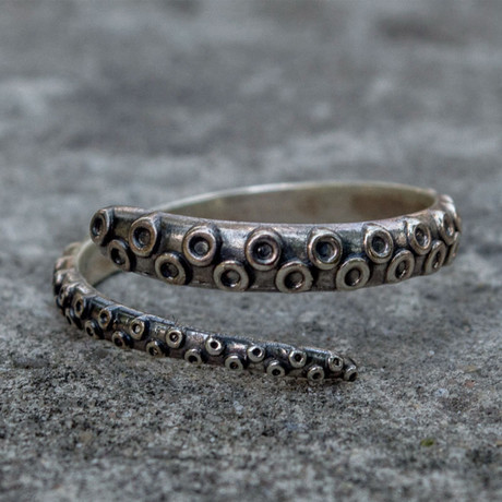 Sailor Collection // Octopus Ring (6)