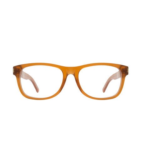 Saint Laurent // Eyeglass Frames // Light Brown