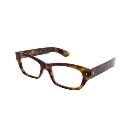 Yves Saint Laurent // Women's Acetate Optical Frames // Havana