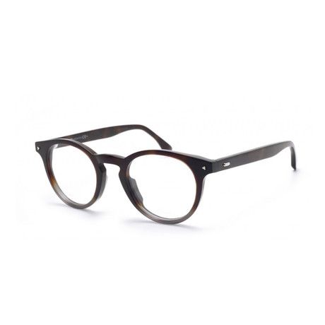 Fendi // Acetate Eyeglass Frames // Shaded Havana Grey