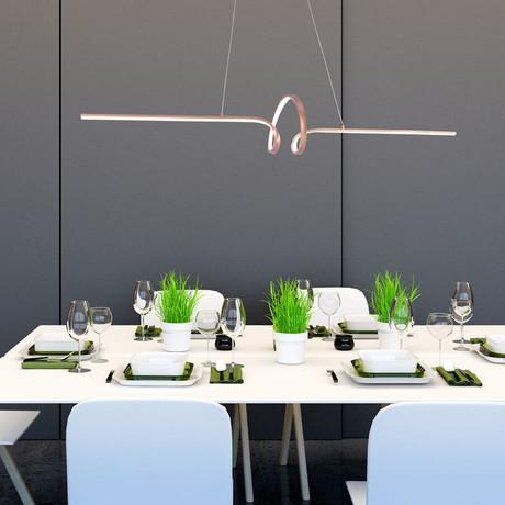 Soltaire Pendant Lamp (Copper)
