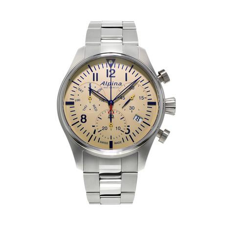 Alpina Startimer Pilot Chronograph Quartz // AL-371BG4S6B