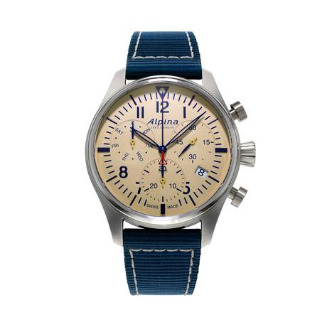 Alpina Startimer Pilot Chronograph Quartz // AL-371BG4S6