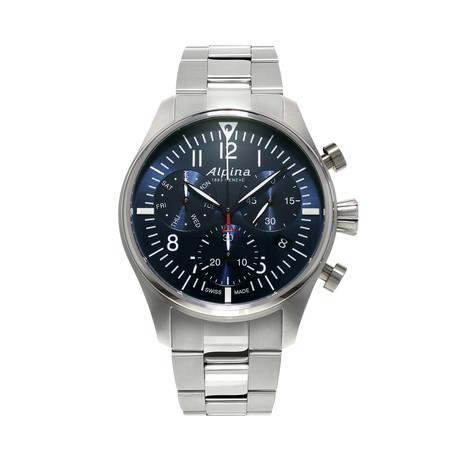 Alpina Startimer Pilot Chronograph Quartz // AL-371NN4S6B