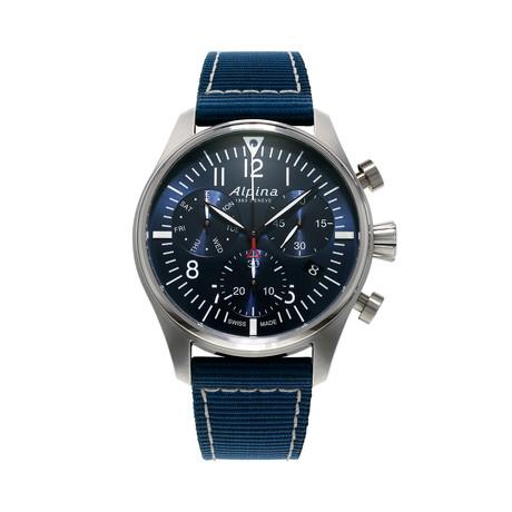 Alpina Startimer Pilot Chronograph Quartz // AL-371NN4S6