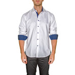 William Long-Sleeve Button-Up Shirt // White (XS)