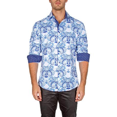 Matthew Button-Up Shirt // Light Blue (XS)