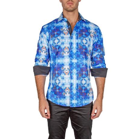 Joshua Button-Up Shirt // Turquoise (XS)