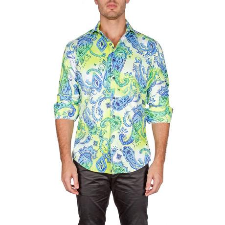 Richard Button-Up Shirt // Yellow (XS)