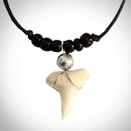 Great White Shark Tooth // Replica // Necklace