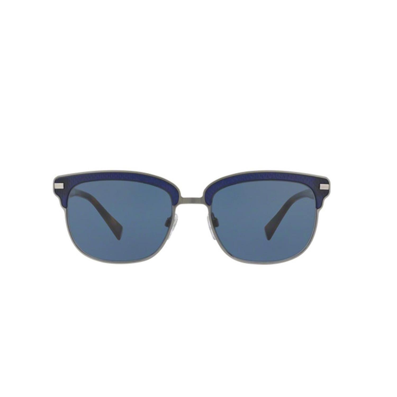 89dbdb65e605f 4b40fec967cf119b859dcbe92e589217 medium · Burberry    Metal Sunglasses    Matte  Blue ...