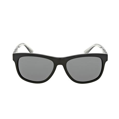 Burberry // Men's Acetate Sunglasses // Black + Gray