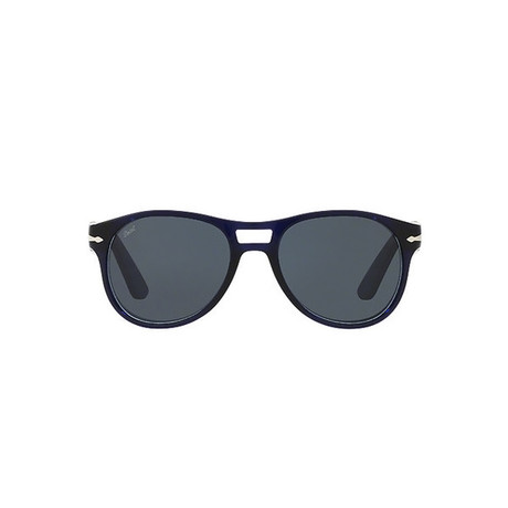 Acetate Aviator Sunglasses // Dark Navy + Dark Azure