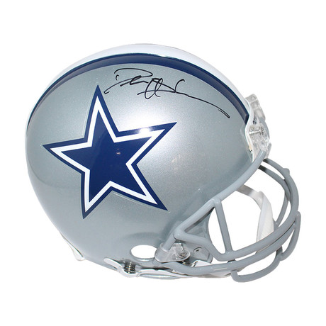 Signed Cowboys Helmet // Deion Sanders