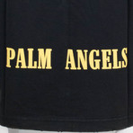 Palm Angels // Legalize It Tee // Black (M)